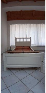 IKEA Bett weiß 100x200 mit