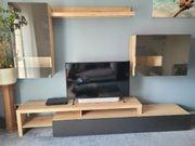 Wohnzimmerschrank zu verkaufen - Anbauwand Sonoma