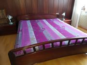 Doppelbett mahagoni hochwertig