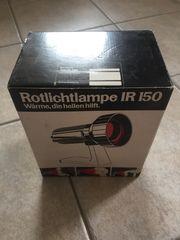 Rotlichtlampe IR 150 in Originalschachtel