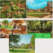 Fünf Postkarten aus dem Wendland