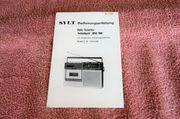 Bedienungsanleitung für SYLT Kofferradio