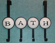Hakenleiste BATH für Badezimmertür