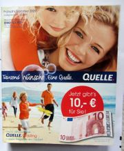 QUELLE-Katalog Frühjahr Sommer 2009 vorletzter -