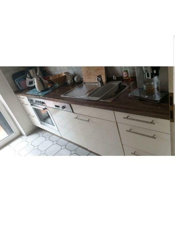 Einbauküche Farbe Magnolia Möbel Hummel