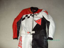 Motorradbekleidung Herren - Lederkombi Dainese Gr 50 52