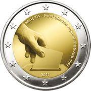 2 Euro Gedenkmünze Malta 2011 -