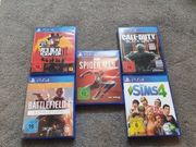PlayStation 4 Spielepaket Top Zustand