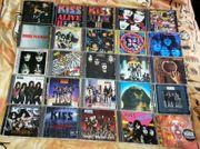 CD Sammlung - Kiss - 25 Alben