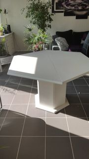 sechseckicken ausziehbaren Tisch