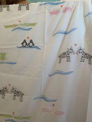 Vorhang für Kinderzimmer Stoffreste