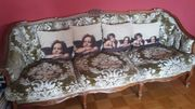 SOFA 3-Sitzer COUCH Antik Louis