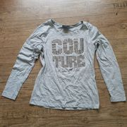 Shirt Top grau mit Nieten