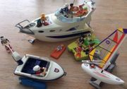 Playmobil Wassersportset inkl großer Yacht