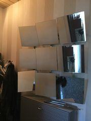 Spiegel aus 9 Quadratspiegeln