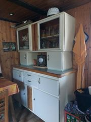 Altes Küchenbuffet bestehend aus 4