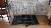 Hundekäfig Transportbox Welpenkäfig Tierkäfig Faltbar