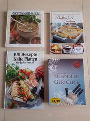 Kochbücher verschiedene