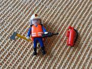 Playmobil Feuerwehrmann mit div Zubehör