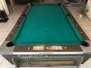 Billiard Tisch Firma Fischer Vintage