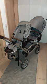 Kinderwagen Zwillingswagen