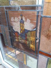 Dekorative Bleiglas Fenster
