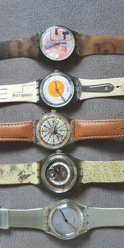 Swatch Uhren aus den 90ern -