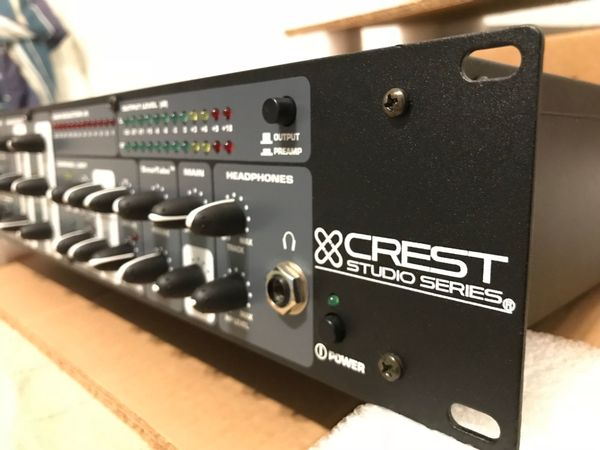CREST AUDIO MIC Channel Strip
