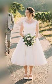 Wunderschönes Petticoat Brautkleid Gr 36