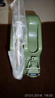 Kraftstoffkanister Olivgrün (Stahl)