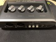M-Audio MobilePre MkII USB-Audio-Interface