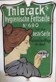 Altes Original Plakat Kosmetik Thieracks