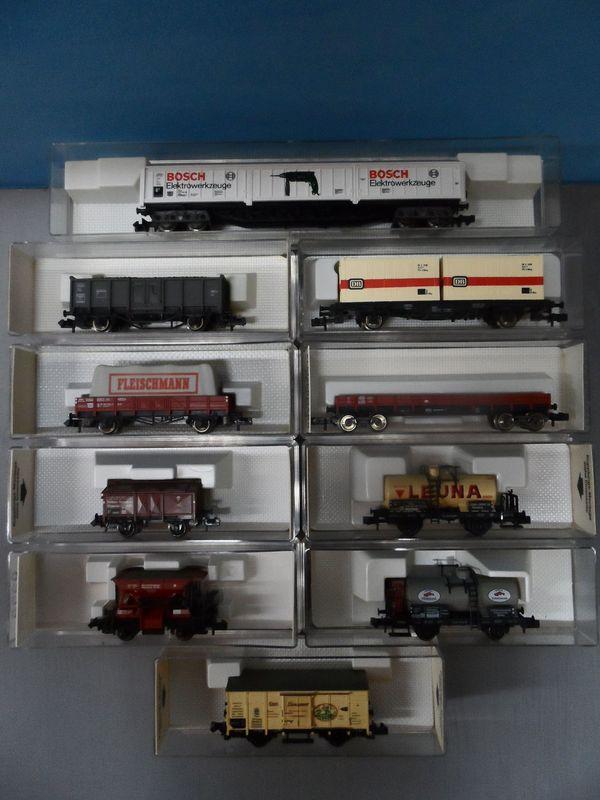 Eisenbahn Flm - Fleischmann - Konvolut 10