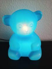 Lampe im Teddybärdesign