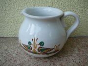 Verkaufe sehr schönen Porzellan-Keramikkrug mit