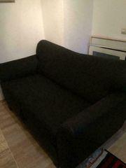 Ausklappbare 2-er Couch Hobbyraum zum