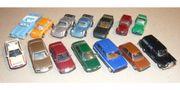 14 PKW Modelle