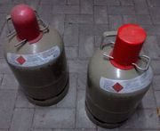 2 Camping Gasflaschen Wegen geplantem