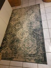 Teppich Kurzflor Grün