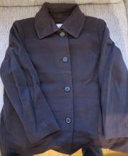 Damen Mantel Wolle kurz