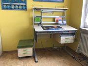 Moll Schreibtisch mit Flex Deck