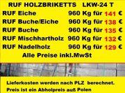 RUF Holzbriketts Buche