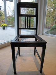 Esszimmerstühle - 4 gleiche Stühle - dunkles