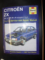 Reparaturanleitung Citröen ZX