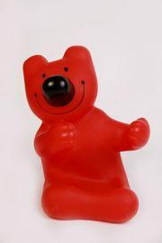 Handyhalter-Ständer Bär rot Plastik WÜRTH