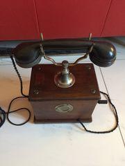 Telefon Kurbeltelefon antik von 1908