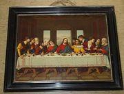 Das letzte Abendmahl Gemälde Religion