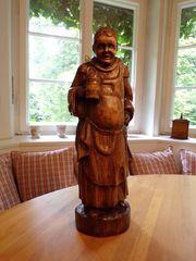 Holzschnitzerei Mönch