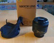 Nikon Nikkor AF-S 85mm F1 8G
