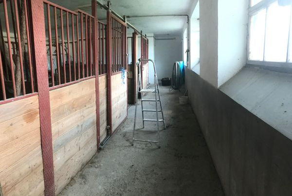 Stall in Bestlage